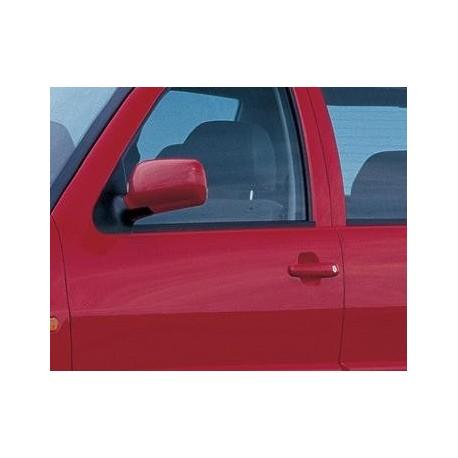 Retroviseur exterieur VW POLO CLASS 1996- Manuel a Cable - Aspherique - Coiffe a peindre - Gauche - CIPA