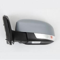 Retroviseur exterieur FORD FOCUS 03/2011 - Electrique - Clignotant - Coiffe a peindre - Eclairage - Rabattable - Droit