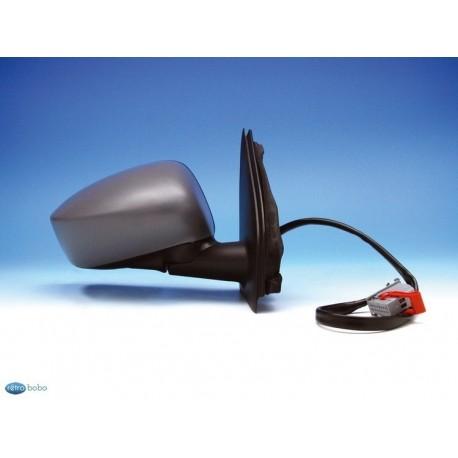 Retroviseur exterieur FIAT STILO 2001- (5 Portes) - Electrique - Aspherique - Sonde - Coiffe a peindre - Droit - CIPA