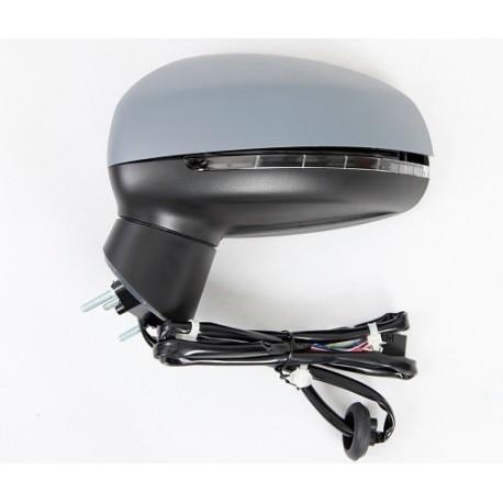 retroviseur exterieur audi a1 2011 electrique clignotant rabattable gauche. Black Bedroom Furniture Sets. Home Design Ideas