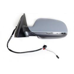 Retroviseur exterieur AUDI A4 01/2012- - Electrique - Droit - Degivrant - Bombee - Clignotant - Coiffe a peindre