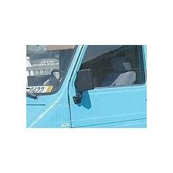 Retroviseur exterieur FIAT 242 - Manuel - Gauche - Glace Bombee - Coiffe Noir
