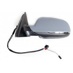 Retroviseur exterieur AUDI A4 01/2012- - Electrique - Gauche - Degivrant - Aspherique - Clignotant - Coiffe a peindre - Memoire