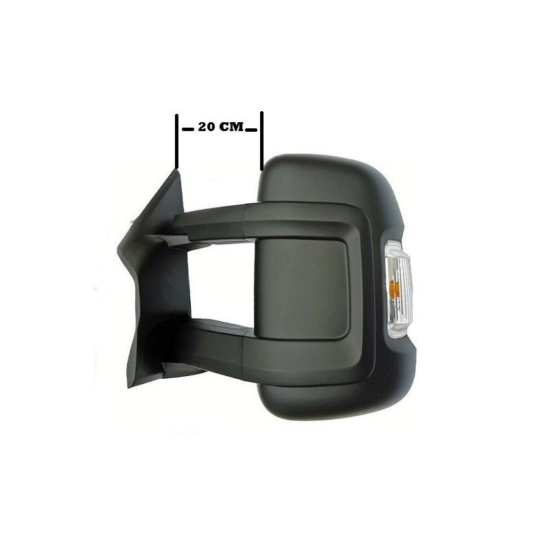 retroviseur exterieur fiat ducato 06 2006 electrique degivrage clignotant bras long gauche. Black Bedroom Furniture Sets. Home Design Ideas