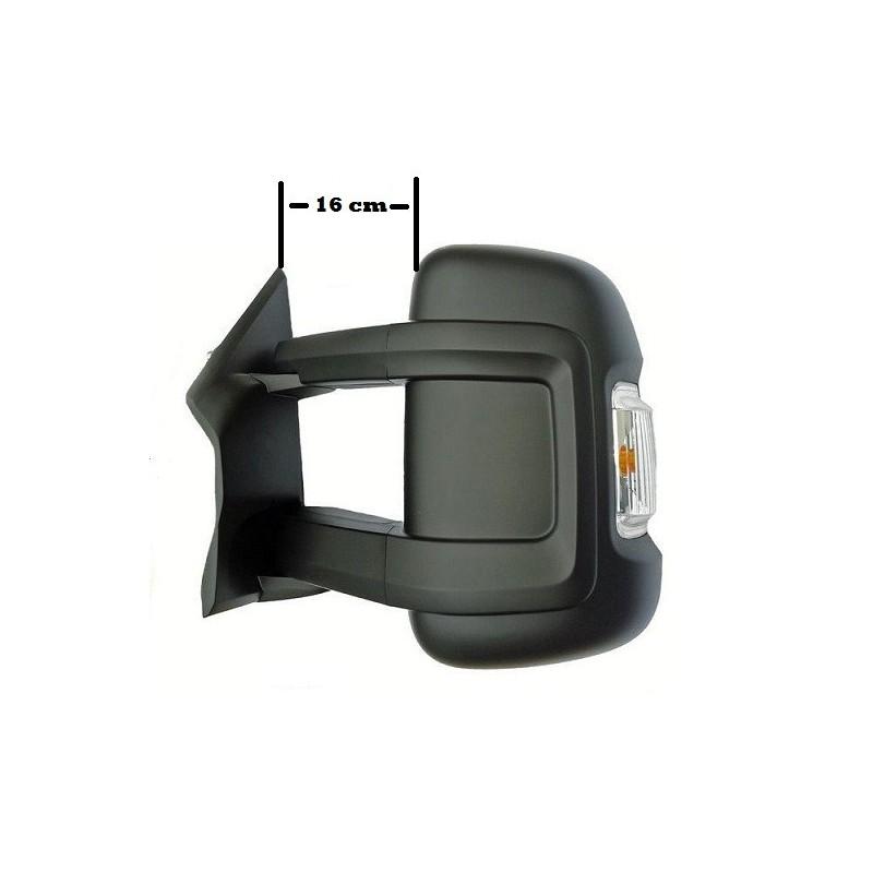 retroviseur exterieur fiat ducato 06 2006 electrique degivrage clignotant bras moyen gauche. Black Bedroom Furniture Sets. Home Design Ideas