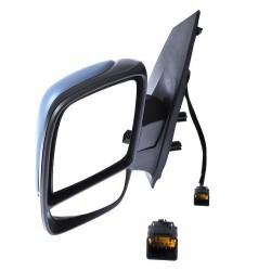 Retroviseur exterieur FIAT SCUDO 2007- - 2 Glaces - Electrique - Sonde - Coiffe a peindre - Rabattable - Droit - CIPA