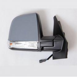 Retroviseur exterieur FIAT DOBLO 01/2010- - Electrique - Droit - Degivrant - Glace Bombee - Coiffe a peindre - Clignotant - Sond