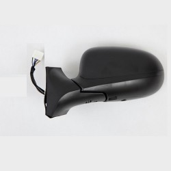 Retroviseur exterieur FIAT IDEA IDEA 2010- - Electrique - Droit - Dégivrant - Glace Bombee - Coiffe Noire