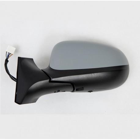 Retroviseur exterieur FIAT IDEA 2010- - Electrique - Gauche - Dégivrant - Glace Bombee - Sondes de température - Coiffe a peindr