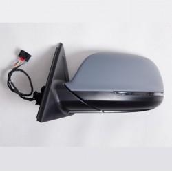 Retroviseur exterieur AUDI Q5 10/2008- - Electrique - Droit - Degivrant - Bombee - Clignotant - Coiffe a peindre