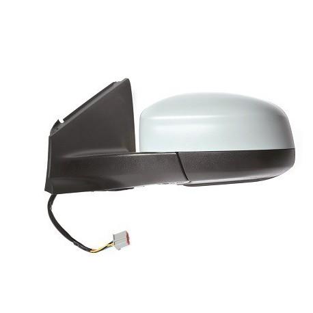 Retroviseur exterieur FORD MONDEO 2007-2011 - Electrique - Degivrage - Aspherique - Lampe - Rabattable - Coiffe a peindre - Gauc