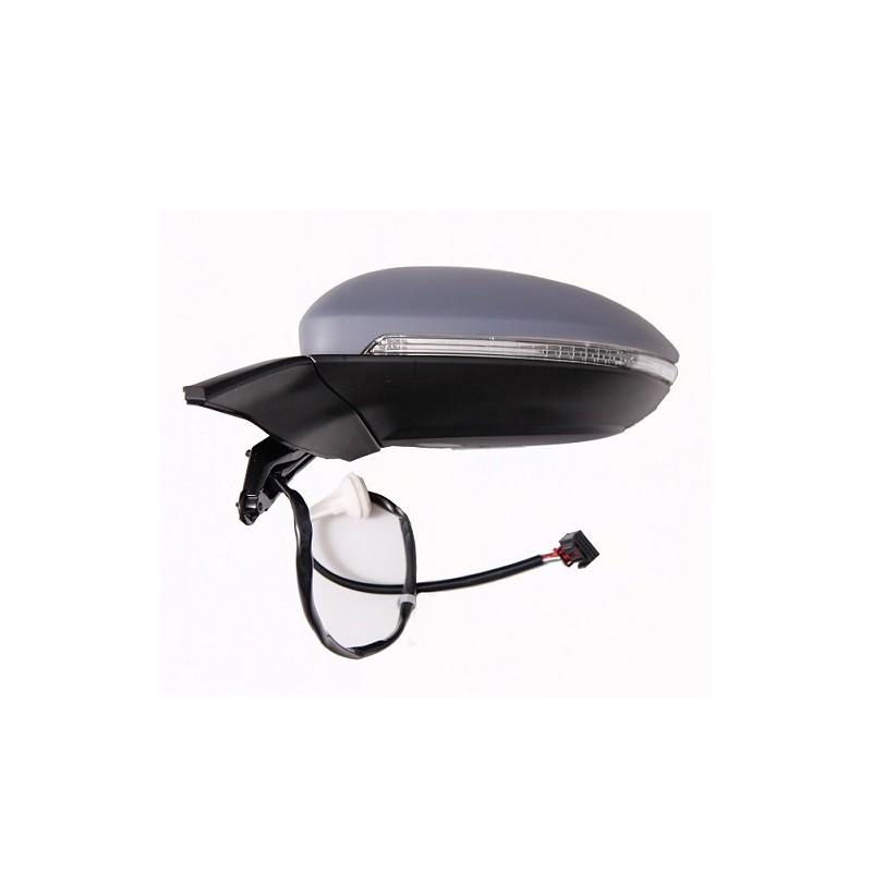 retroviseur exterieur volkswagen golf 11 2012 electrique degivrant clignotant eclairage gauche. Black Bedroom Furniture Sets. Home Design Ideas